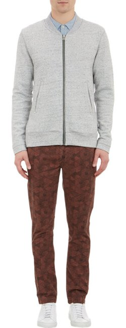Paul Smith Jeans   - Zip-Up Baseball Jacket