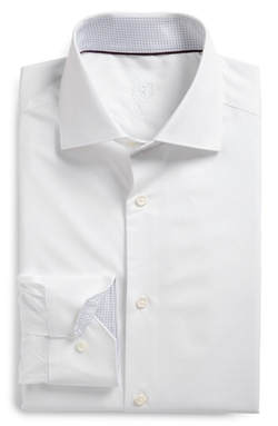 Bugatchi - Solid Dress Shirt