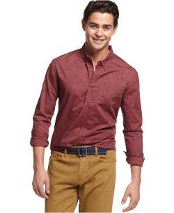 Retrofit  - Long-Sleeve Printed Shirt