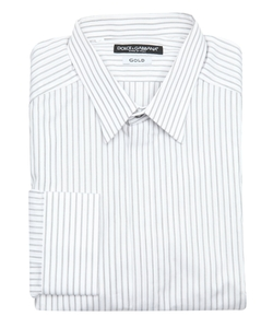 Dolce & Gabbana - Striped Cotton Dress Shirt