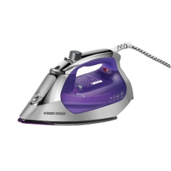 Black & Decker - Nonstick Soleplate Steam Iron