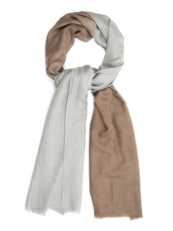 Denis Colomb  - Toosh Two Tone Cashmere Shawl
