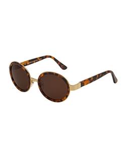 Super by Retrosuperfuture - Santa Round Sunglasses