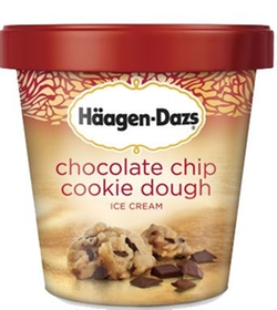 Häagen-Dazs - Chocolate Chip Cookie Dough Ice Cream