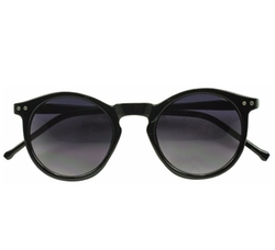 Sunglass Stop Shop  - Horned Riveted Keyhole Studded Sunglasses
