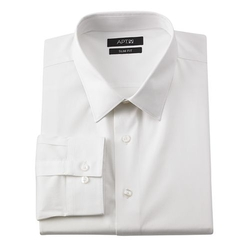 Apt. 9 - Slim-Fit Stretch Solid Dress Shirt