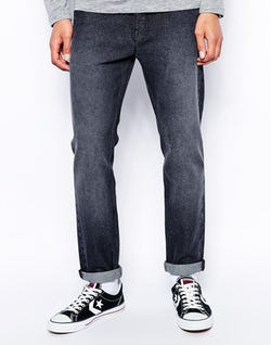 Asos - Black Wash Slim Jeans