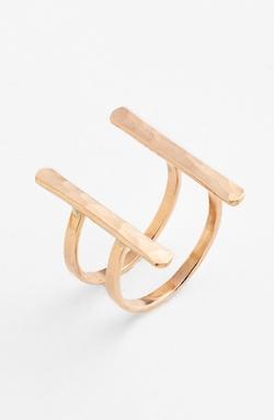 Ija - Double Bar Open Ring