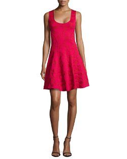 Zac by Zac Posen   - Knit Fit & Flare Dress