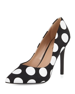 Charles By Charles David   - Pact Polka-Dot Pointed-Toe Pumps