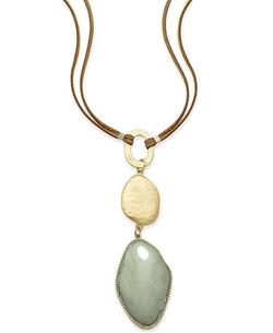 INC International Concepts  - Gold-Tone Triple Drop Pendant Necklace