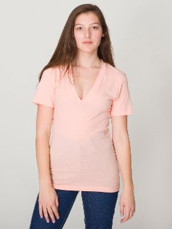 American Apparel - Unisex Sheer Jersey Shirt