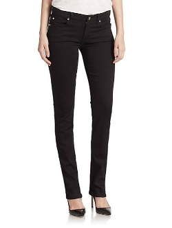7 For All Mankind - Kimmie Straight-Slim Jeans