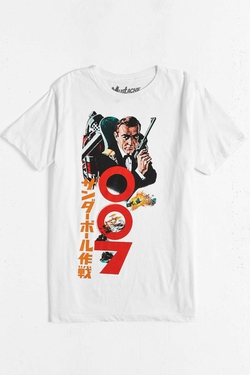 Urban Outfitters - James Bond Thunderball Kanji T-Shirt