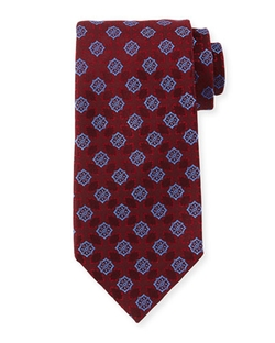 Charvet - Medallion-Print Silk Tie