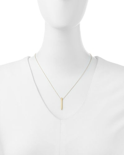 Dogeared - Balance Spiky Spear Pendant Necklace