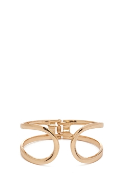 Forever 21 - Open Cutout Hinge Cuff Bangle