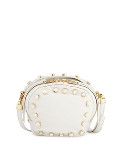 Cynthia Rowley - Piper Studded Leather Crossbody Bag