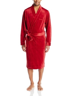 Boss Hugo Boss - Jersey Velour Lounge Robe