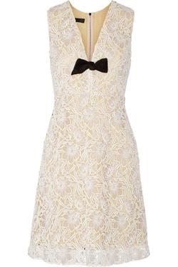 Burberry Prorsum - Macramé Lace Dress