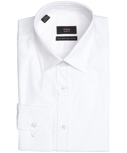 Alara - White Egyptian Cotton Point Collar Dress Shirt