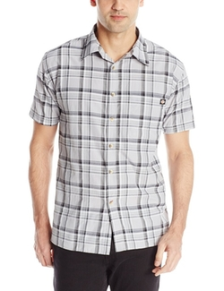Dickies - Short-Sleeve Plaid Shirt