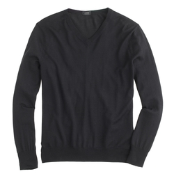 J. Crew - Lightweight Italian Merino Wool V-Neck Sweater