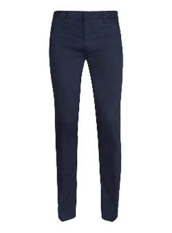 Topman - Navy Ultra Skinny Cropped Pants
