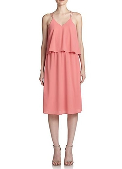 Cooper & Ella  - Layered Cross-Back Dress