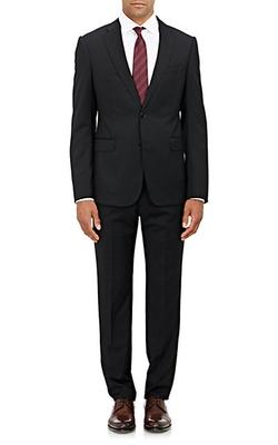 Armani Collezioni - Twill Two-Button Metro Suit