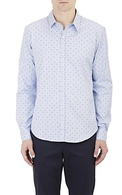 Barneys New York  - Embroidered Shirt