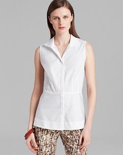 Lafayette 148 New York  - Lanore Sleeveless Blouse
