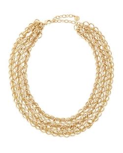 R.J. Graziano - Three-Row Chain Necklace