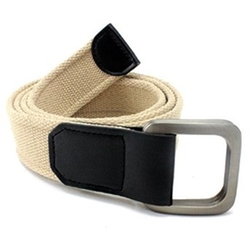 Enimay - Double D Ring Canvas Military Belt