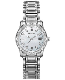 Bulova - Stainless Steel Bracelet Watch