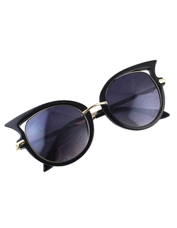 Romwe - Women Cat Eye Sunglasses