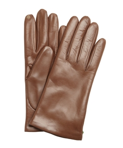 Portolano - Pine Brown Nappa Leather Gloves