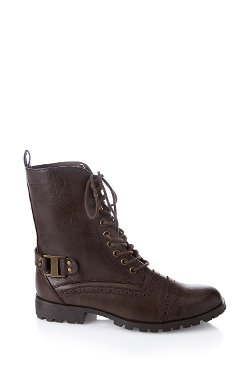 Forever 21 - Lace-Up Combat Boots