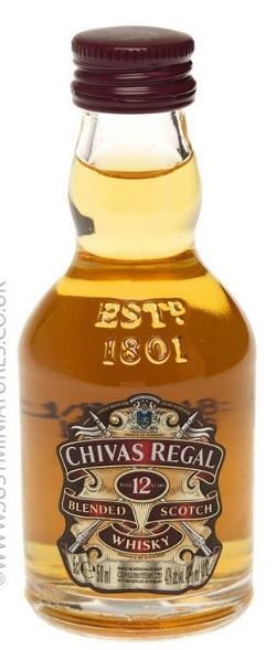 Chivas Regal - Blended Scotch Whisky Miniature