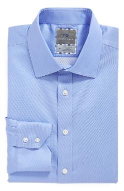 Thomas Dean - Regular Fit Non-Iron Dress Shirt