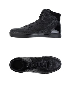 Y-3 - Logo Detail High-Top Sneakers
