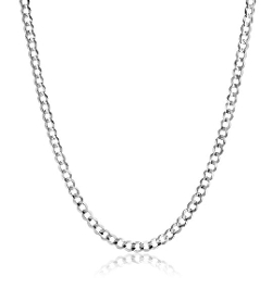 Amazon Collection - Cuban Curb Chain Necklace