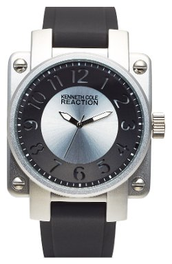 Kenneth Cole New York - Square Silicone Strap Watch