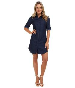 Calvin Klein  - Button Down T-Shirt Dress