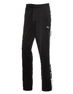 Puma - Side-Stripe Logo Track Pants
