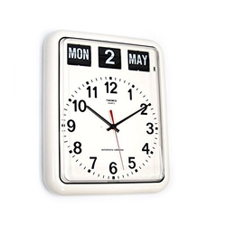 Twemco - German Quartz Calendar Wall Flip Clock