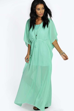 Boohoo - Camila V Neck Kaftan Dress