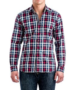 Stone Rose - Checkered Sport Shirt