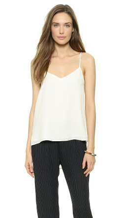 Theory  - Double Georgette Vaneese Camisole Top