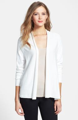 Chaus  - Pointelle Back Cardigan